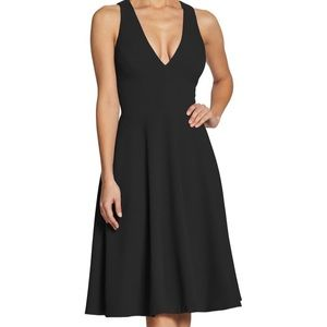 NWOT fit and flare midi dress